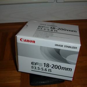 Objectif EFS 18-200mm