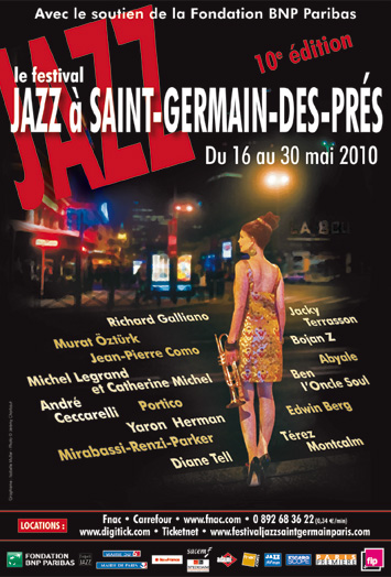 festival jazz saint germain des pres 2010