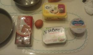 Ingrédients Cheesecake