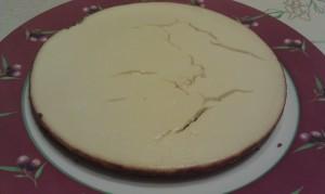 Cheesecake démoulé