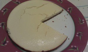 Cheesecake pacman