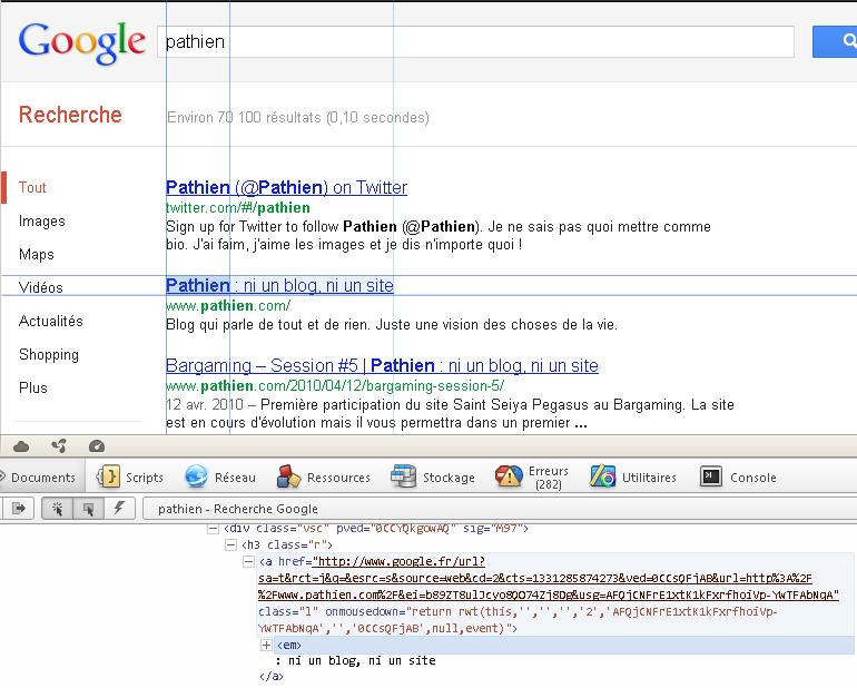Requete HTTPS Pathien Google Not Provided